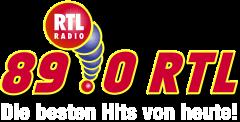 Logo des Radiosenders 89.0 RTL